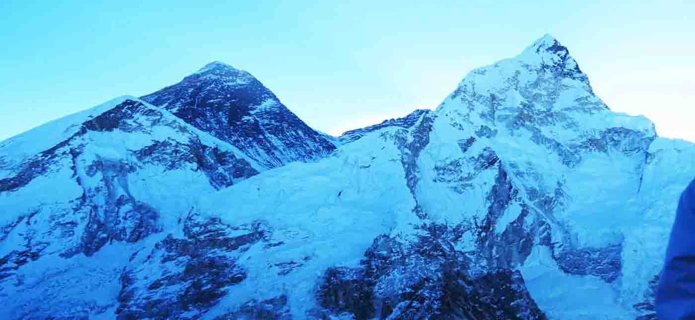 Sunrise view from Kala Patthar